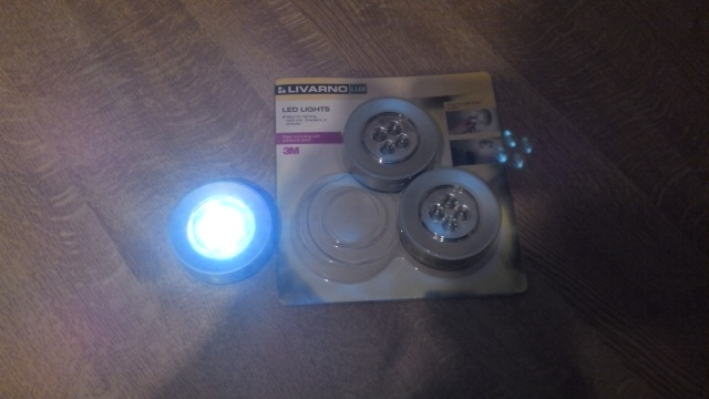 LED lights from Lidl