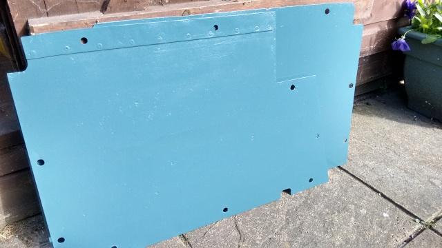 Temporary floor panel repair