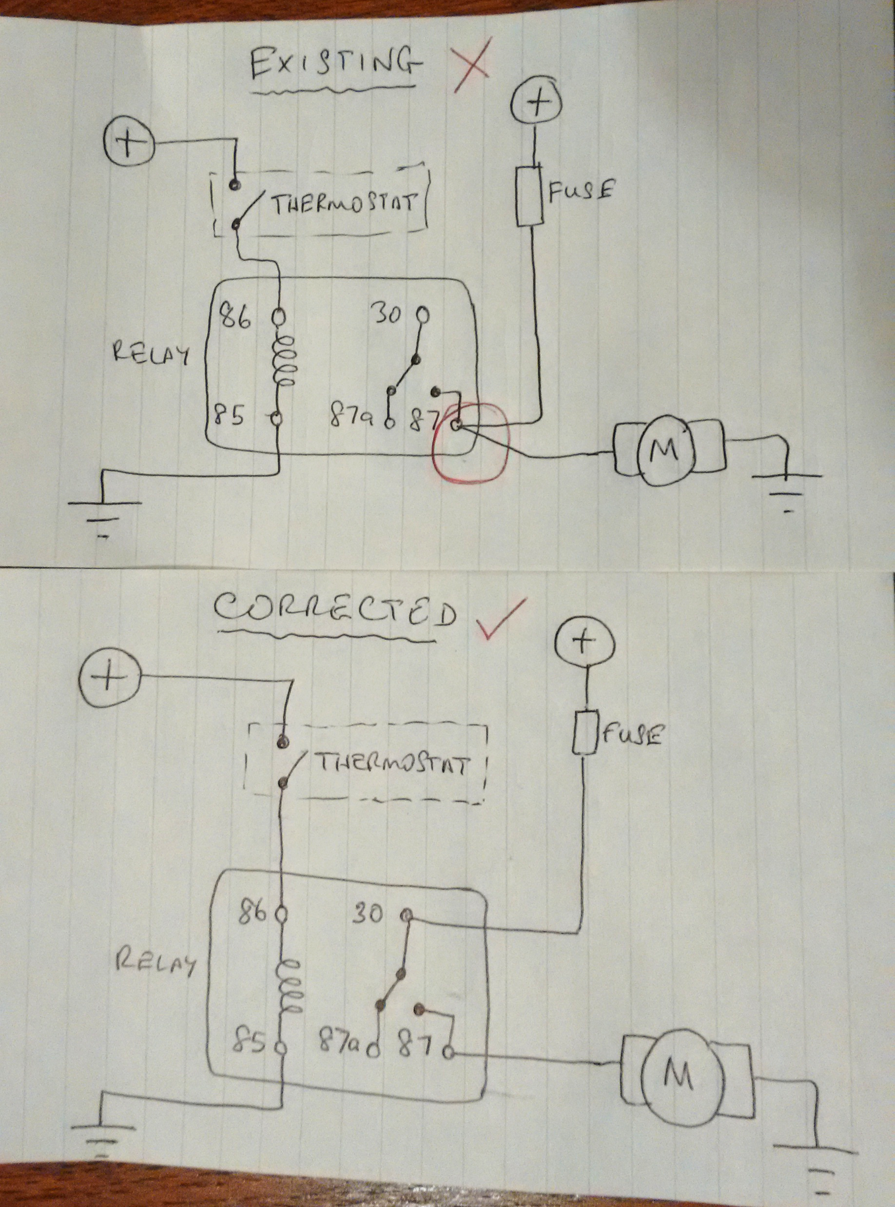 Wiring Diagram Capillary Thermostat Carrier Heat Pump Eaton Oven Kenlowe Fan Series 3 Land Rover Ramblings Heating Placement