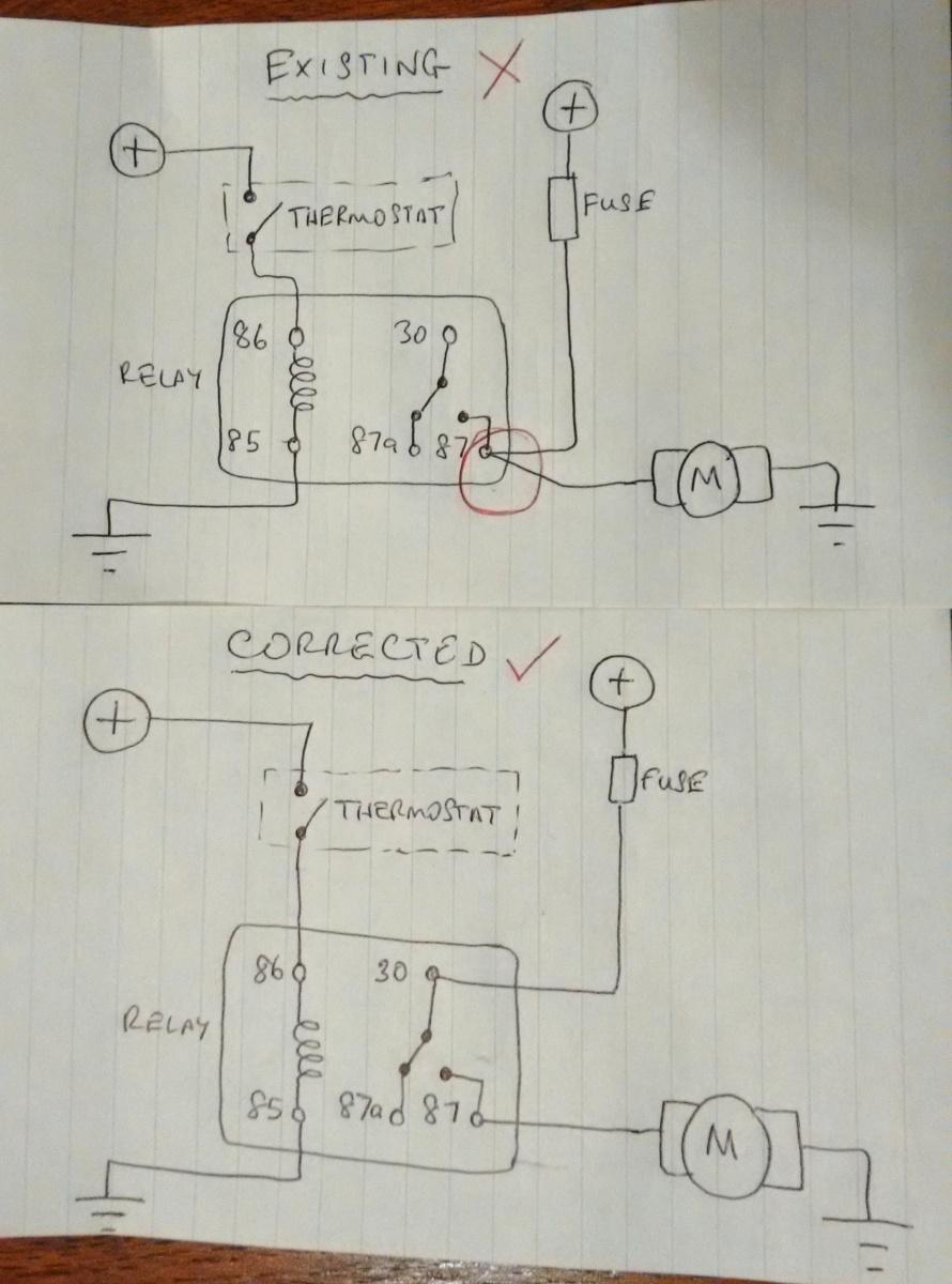 Kenlowe Fan Wiring Diagram | Wiring Liry on