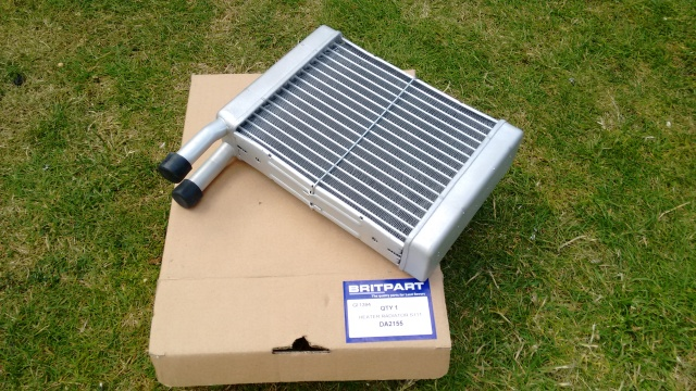 Britpart heater radiator