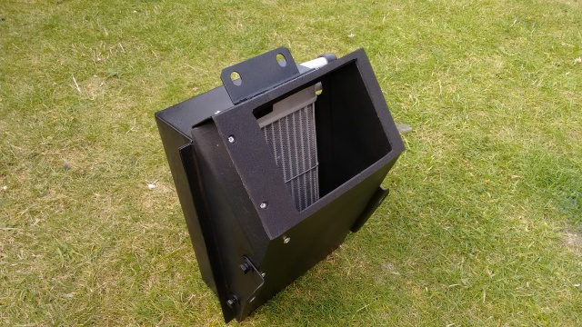 Heater box, home-made gasket