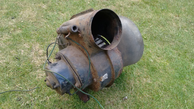 Heater blower unit, Land Rover Series 3