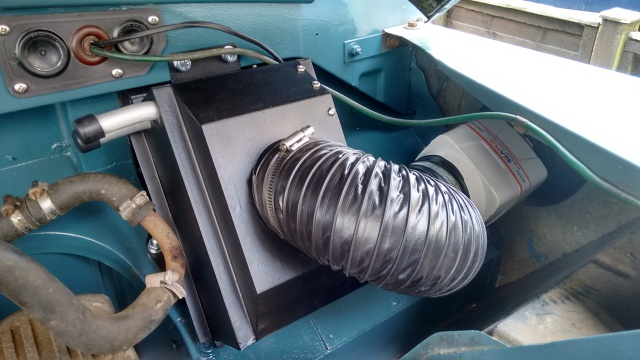 Fits just as well as it did to the original blower unit