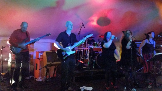 Soul Traders at VW FAB Fest, Strumpshaw, August 2015