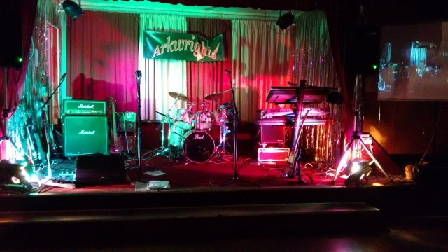 Depping with The Motives, this time at Arkwright's Club, Norwich