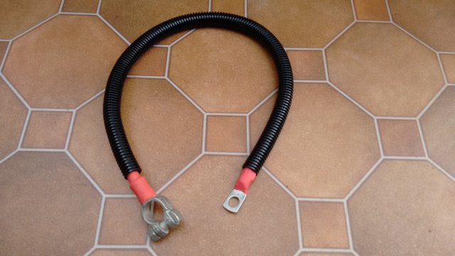Custom battery lead