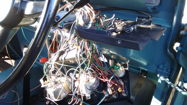 Dash wiring revisited. Again...