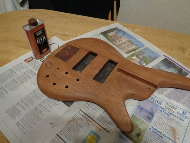 Ibanez SR 500 bass - sanded down